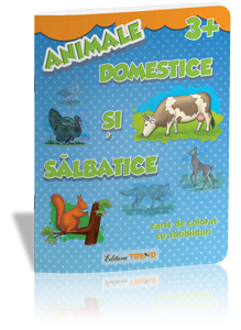 Imagine a Animale domestice și sălbatice 3+